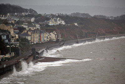 Dawlish storm damage 2