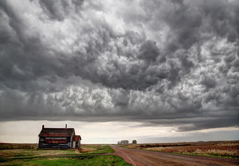 Prairie Storm Clouds Canada