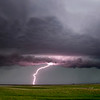 Prairie Storm Clouds Lightning