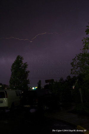 Lightning Photography taken during the early morning hours on Tuesday, April 29th, 2014 in Phenix City, Alabama. Photography By: Lloyd R. Kenney III ©2014 The Cajun. All Rights Reserved. Contact Info: LloydKenneyiii@gmail.com