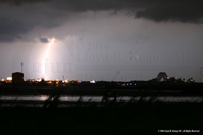 My First Lightning Photograph I took this photo on July 7th, 2004 while watching a thunderstorm move across New Orleans East. This was taken with the Canon Digital Rebel. Photography By: Lloyd R. Kenney III ©2004 The Cajun. All Rights Reserved. Contact Info: LloydKenneyiii@gmail.com