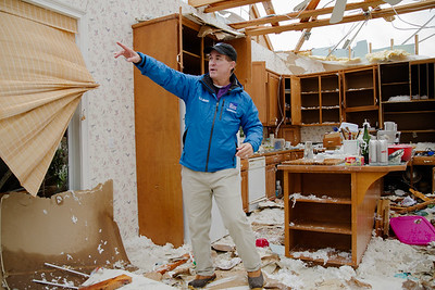 Mike Seidel, Weather Channel Meterologist, stated that the owners of the property had been very cooperative and helpful in their reporting of the storm damage to their home.