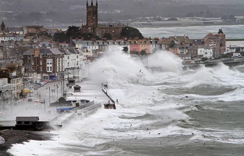 Stormy Seas, Penzance