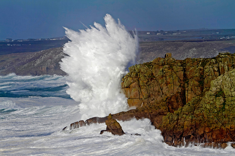 Pedn Men Dhu cliffs