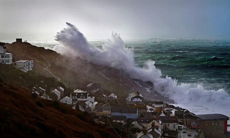 Winter Storm, Sennen