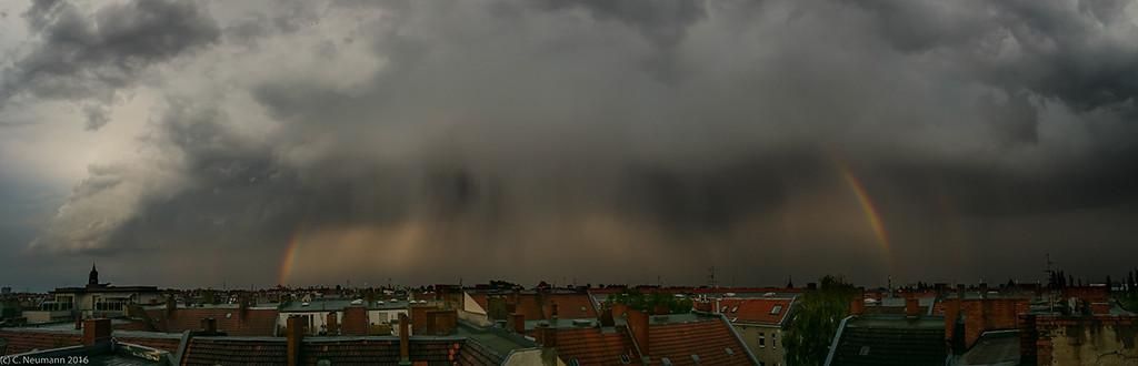 Vanishing Hailstorm. Berlin, May 2016