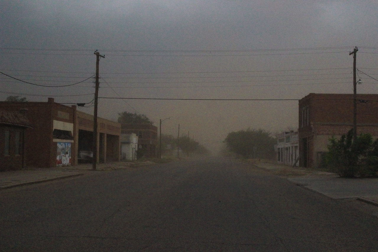 Dusty Old West Texas Town of Spur