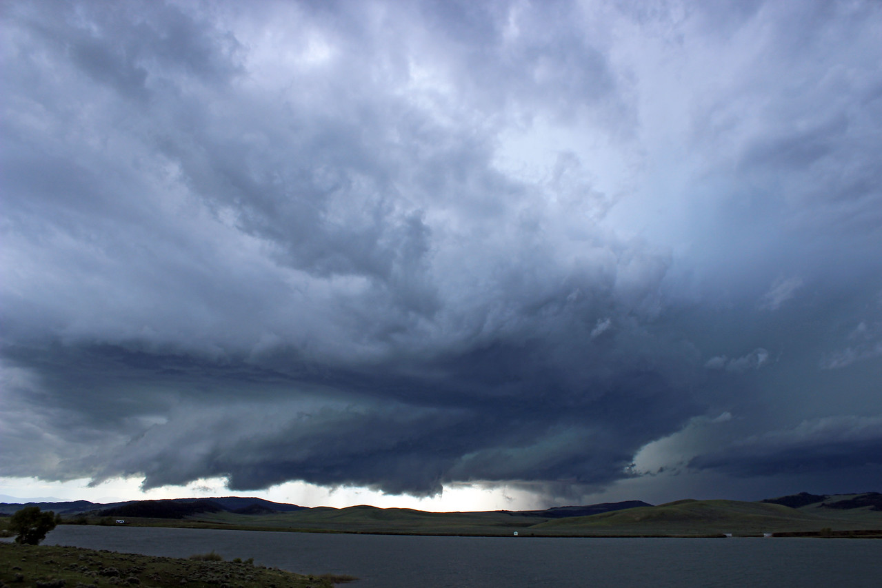 White Sulphur Springs, Montana, Supercell