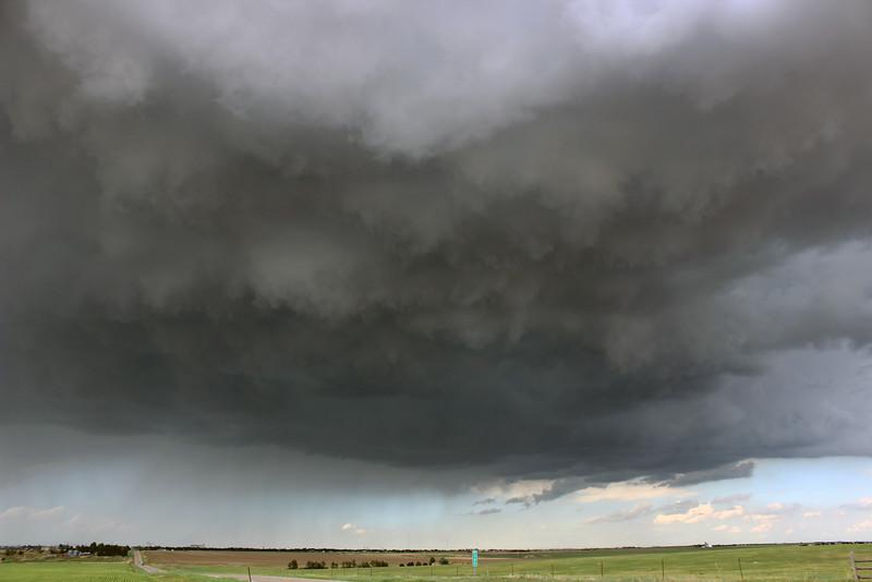Stormy Skies over Burlington, Colorado