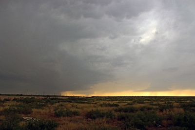 Three New Mexico Supercells
