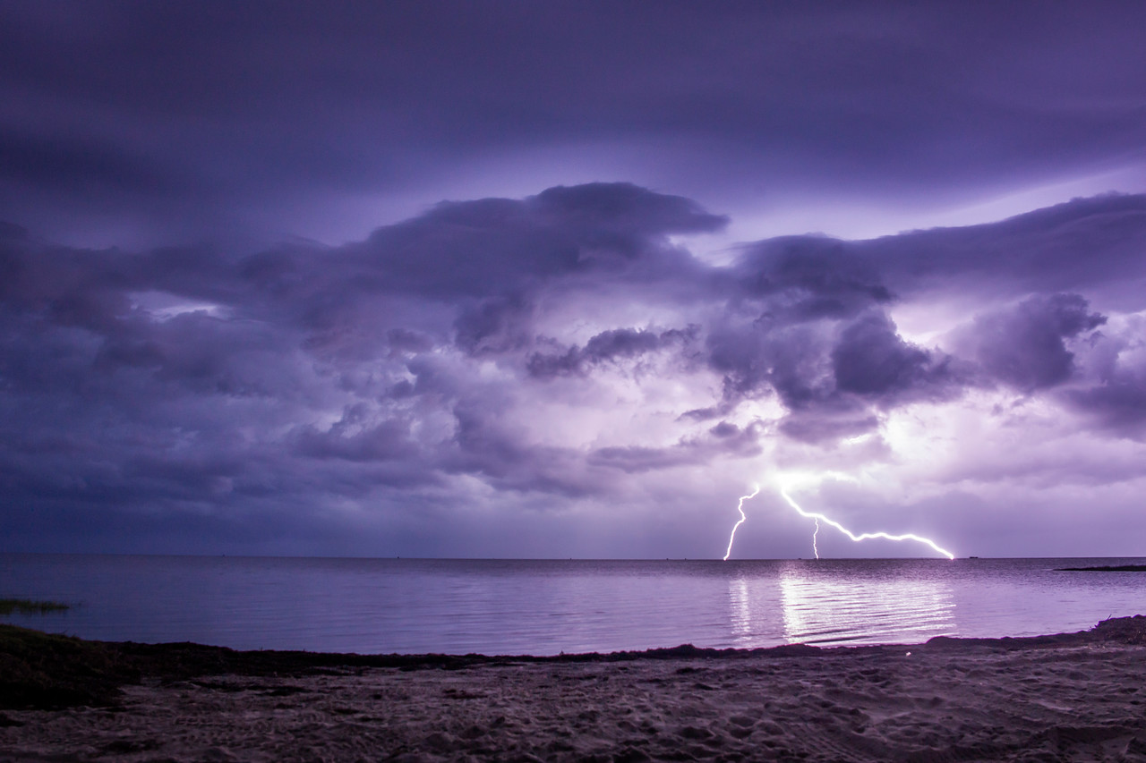 Pamlico Sound Lightning