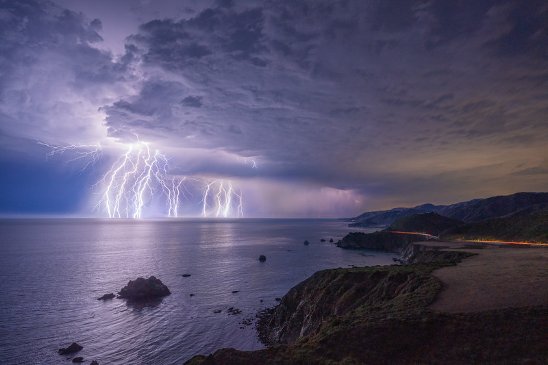Big Sur Thunderstorm