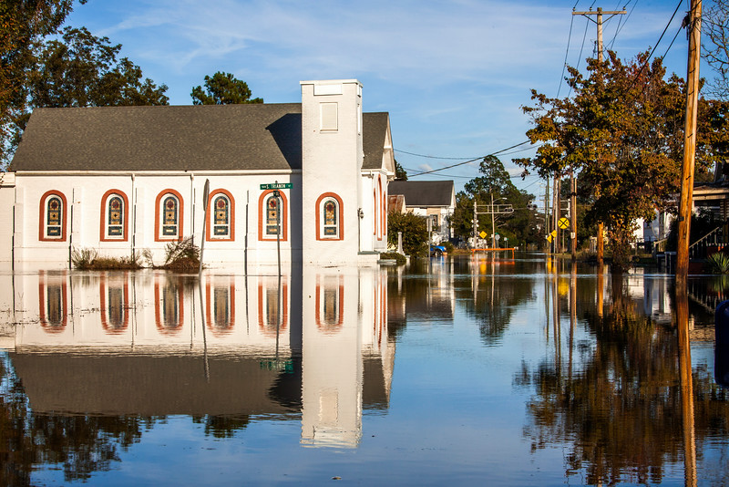 Hurricane Matthew flooding in Kinston