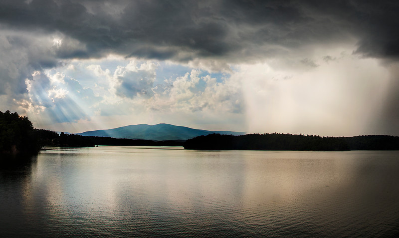 Lake James Rain and Rays