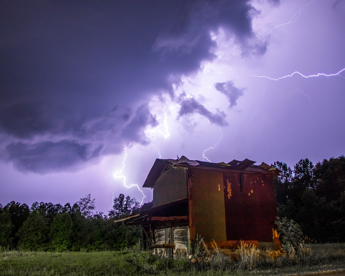 Bolts Above the Barn