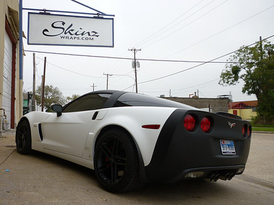 Corvette Storm Trooper White Wraps