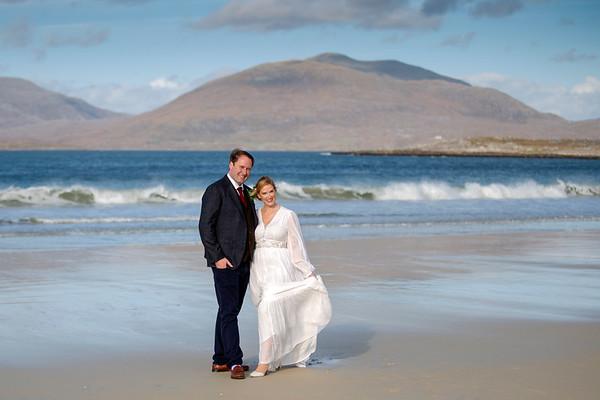 Wedding Photography in Luskentyre, Isle of Harris