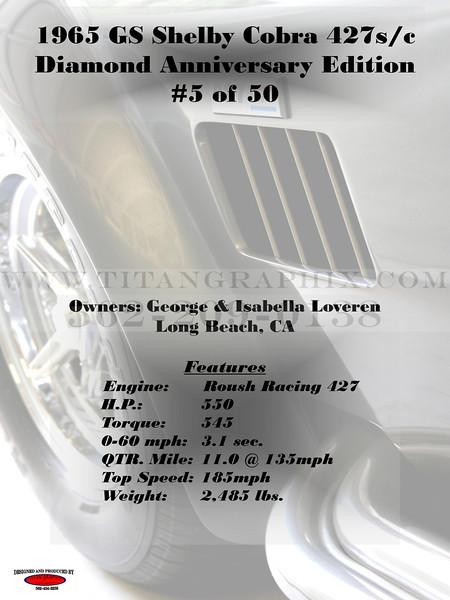 1965 Super Sport GS Shelby Cobra