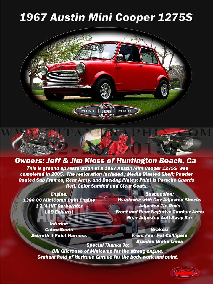 1967 Austin Mini Cooper 1275S