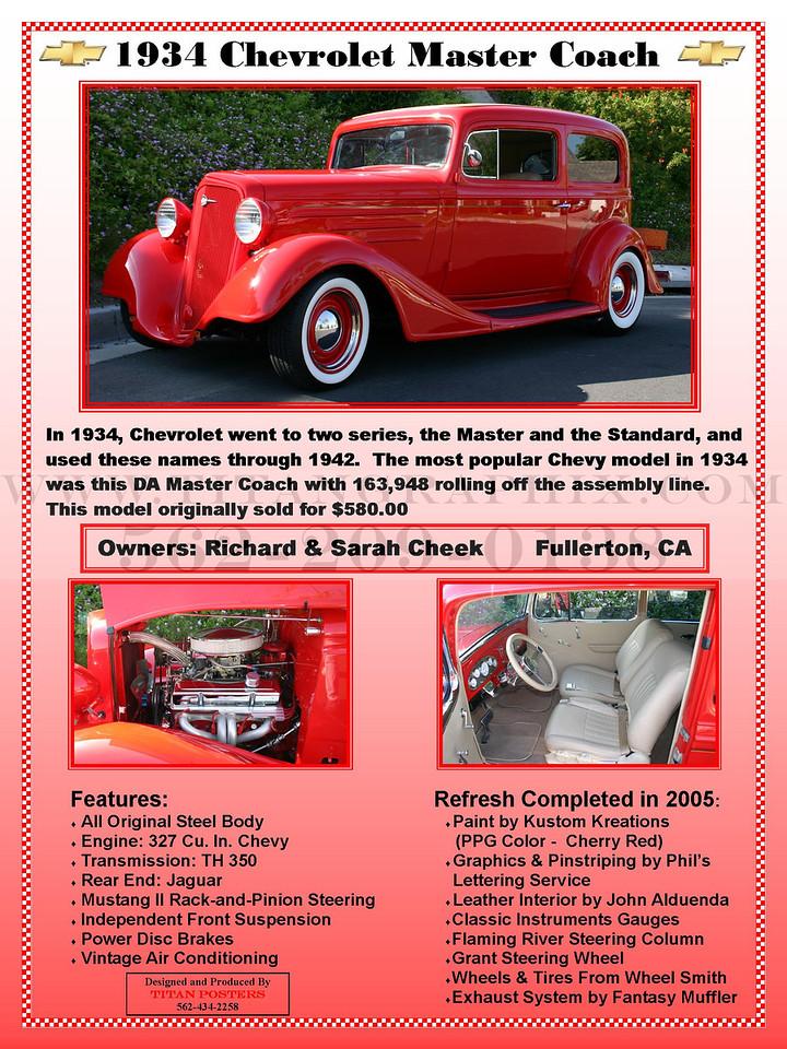 1934 Chevrolet Master Coach