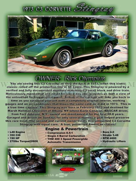 1973 Chevrolet C3 Corvette Stingray
