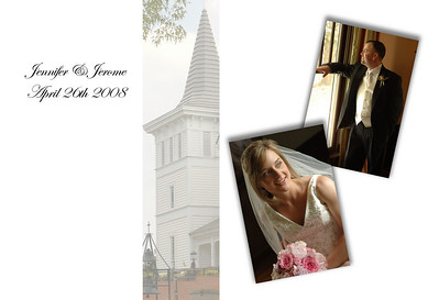 Jennifer and Jerome Wedding