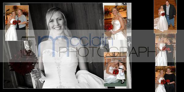 Mendy + Matthew Wedding Book
