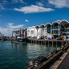The Viaduct, one of the ports in Auckland, New Zealand