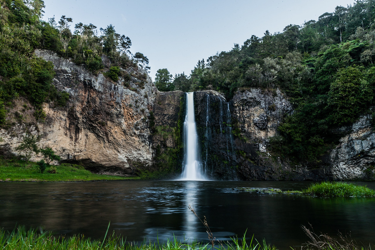 Hunua waterfalls, near Auckland, New Zealand
