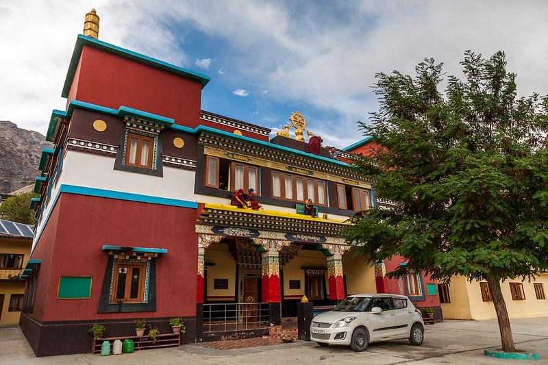 Chango Monastery, Kinnaur, Himachal Pradesh, India