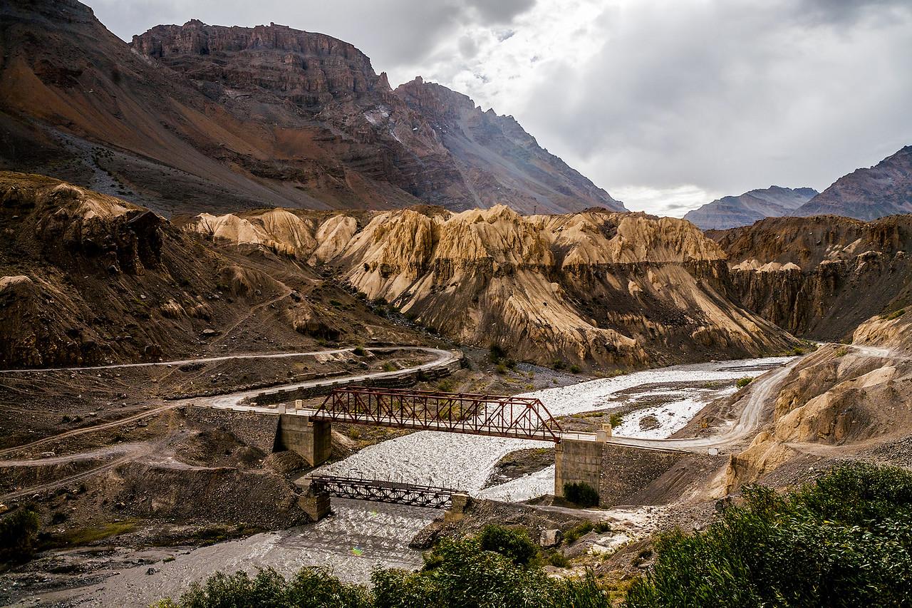 Nearing Kaza on the Manali Kaza route to Spiti valley