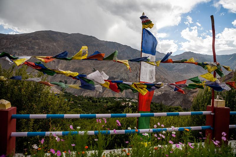 A view from Chango Monastery, Kinnaur, Himachal Pradesh, India