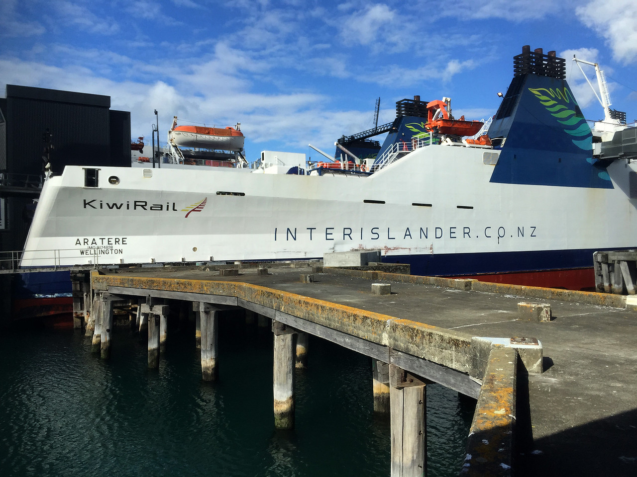The Interislander ferry from Wellington to Picton, New Zealand
