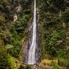 Waterfall enroute Wanaka, West Coast, New Zealand