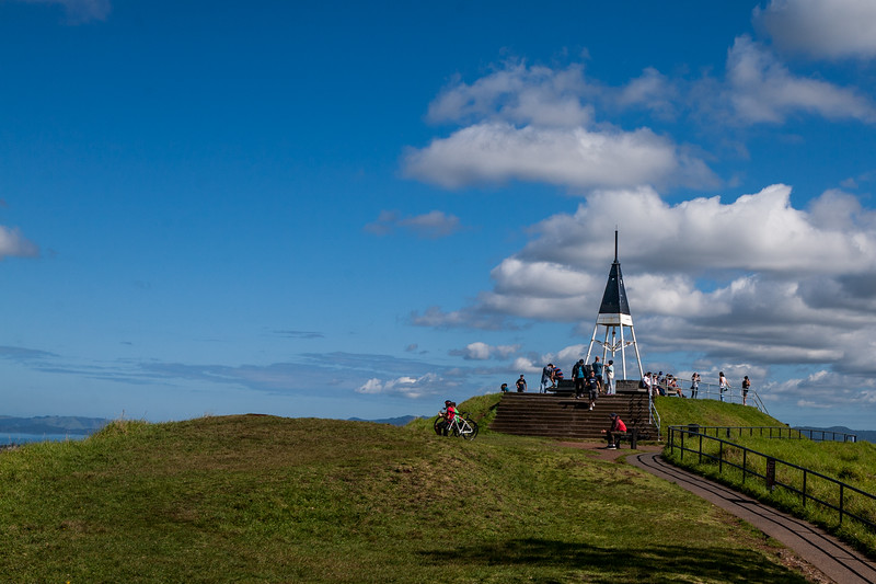 The highest point of Auckland, New Zealand