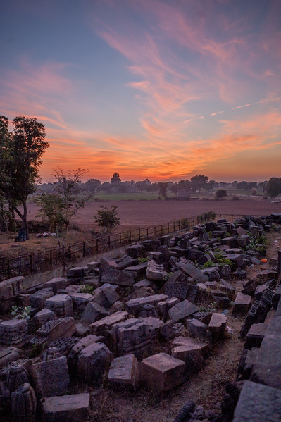 Ruins at Harshad Mata Temple, Abhaneri, Rajasthan