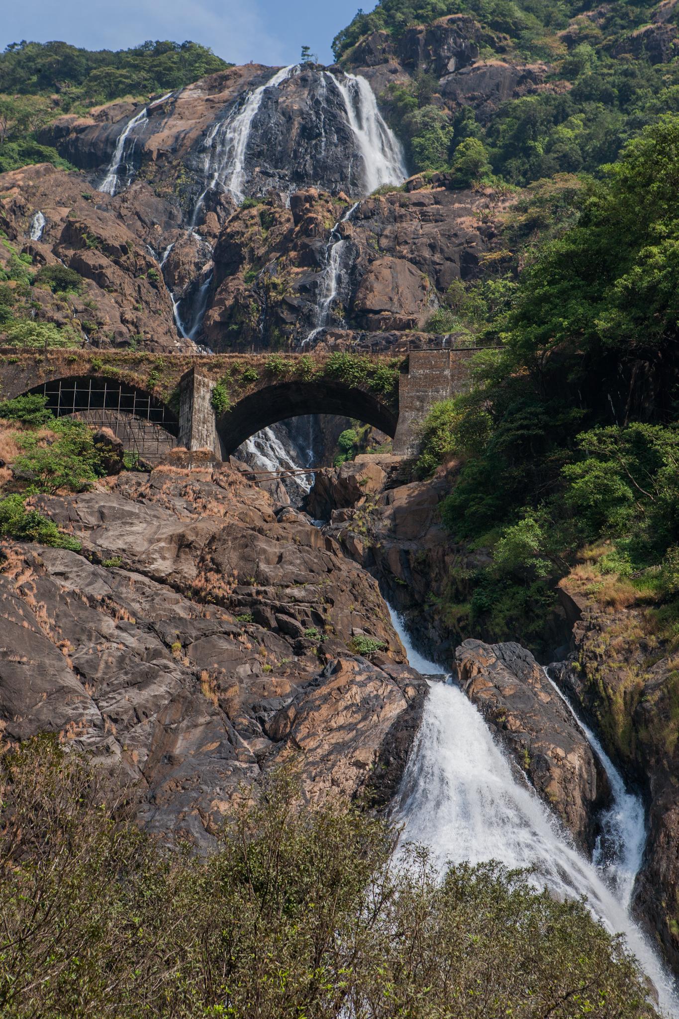 Dudhsagar Waterfalls Where When How Trek And Jeep Safari Guide