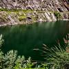 A holy lake on the way to Gangotri in Uttarakhand