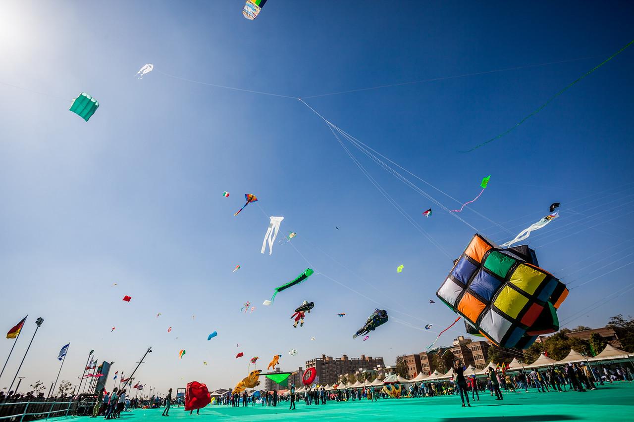 Makar Sankranti Or Uttarayan Indian Festival Of Kites