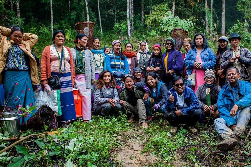 We are Basar family, Arunachal Pradesh, India