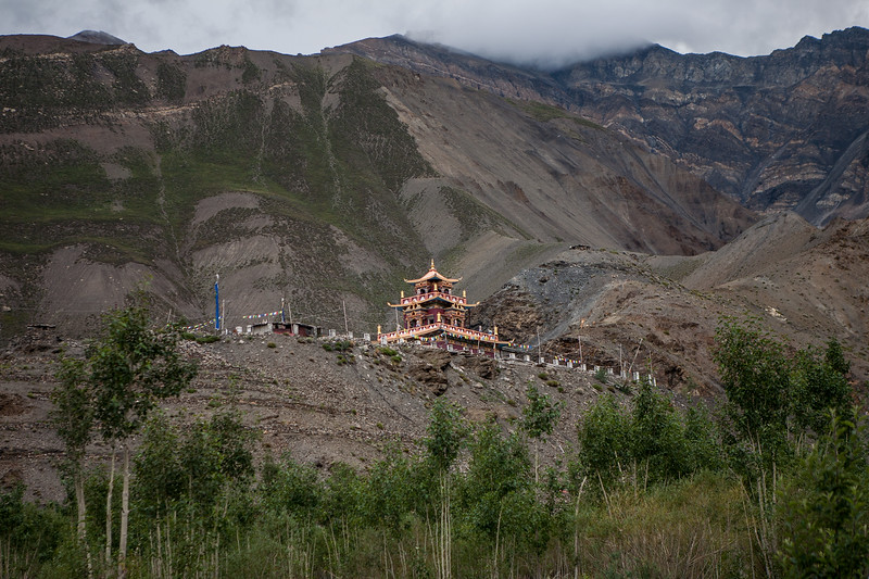 Gue Monastery, Spiti Valley, India