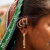 Traditional jwellery of the women of Hodko village in the Kutch region of Gujarat, India