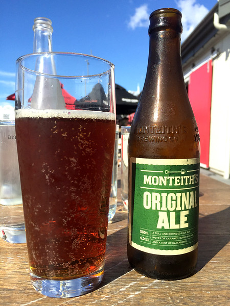 Monteith's beer at Viaduct, Auckland, New Zelanad