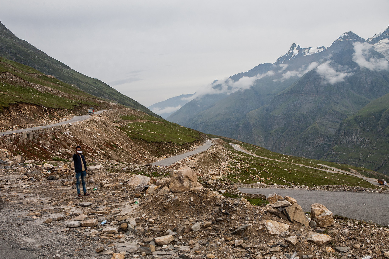 Rohtang Pass on the Manali Kaza route to Spiti valley
