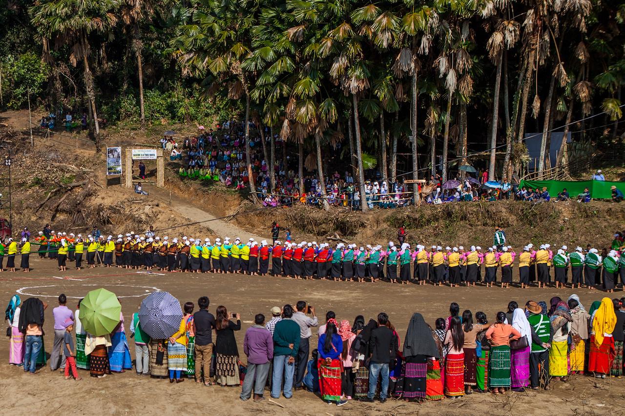 Venue of the Basar Confluence or BasCon, Basar, Arunachal Pradesh, India