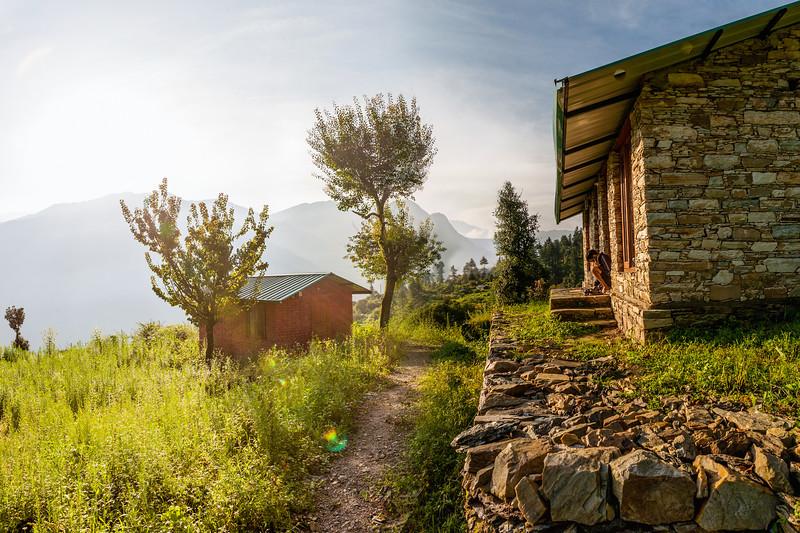 The Goat Village, Raithal, Uttarakhand