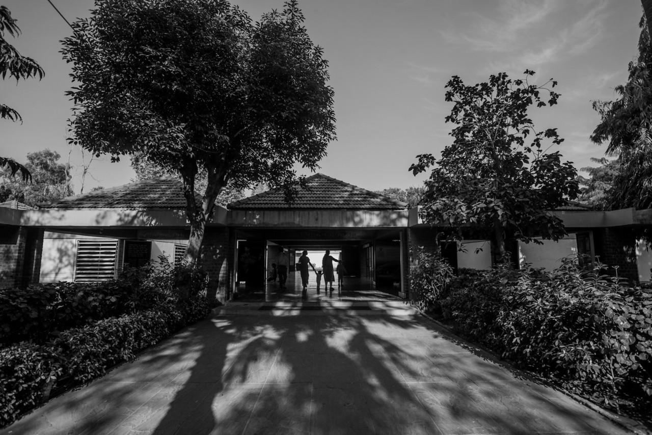Gandhi Ashram at Sabarmati, Ahmedabad, India