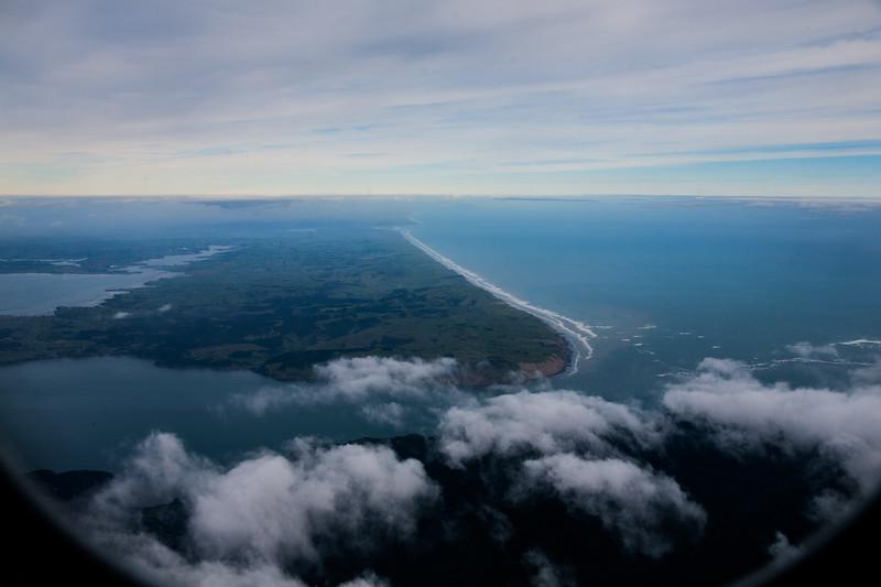 Auckland landing, New Zealand