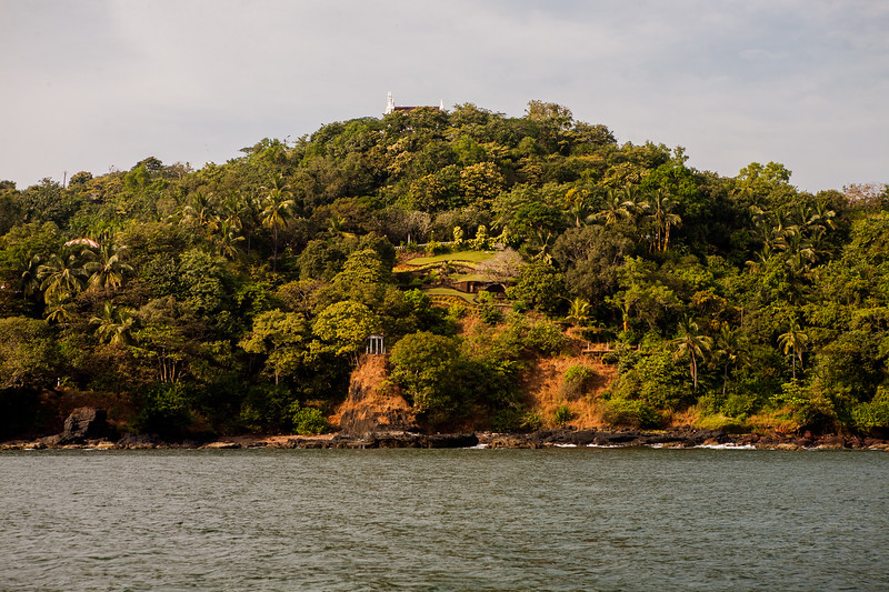 Views from the boat ride in Goa