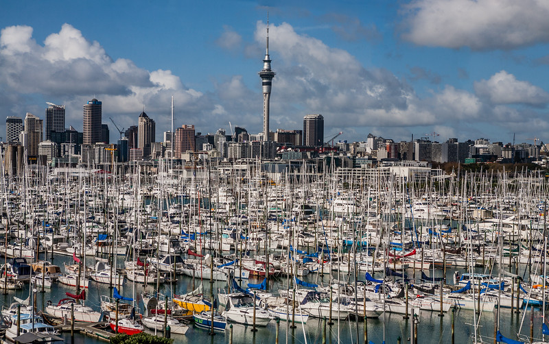 City of sails, Auckland, New Zealand